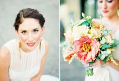 Pastels and greens // Floral design: http://www.poppiesandposiesevents.com/