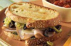 Turkey Italiano Sandwich Recipe
