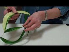 Design Tip: Enhance Arrangement Using Trimmed Aspidistra Leaf ✄ https://www.youtube.com/watch?v=g0-5rMjkmHE