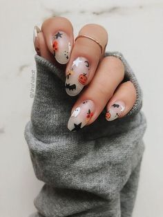 Cute Halloween Nails, Halloween Acrylic Nails, Fall Acrylic Nails, Halloween Nail Designs, Acrylic Nail Designs, Halloween City, Women Halloween, Holloween Nails, Halloween Recipe