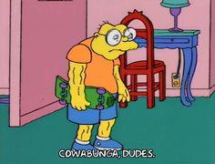 I love the mole-man from The Simpsons. The Simpsons Season 5, Blockchain, Dankest Memes, Funny Memes, Mole Man, Simpsons Tattoo, Great Memes, Mellow Yellow, Popular Memes