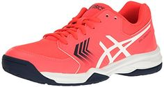 ASICS Womens GelDedicate 5 Tennis Shoe Diva PinkWhiteIndigo Blue 105 M US -- Check out the image by visiting the link.