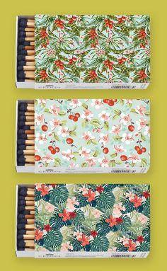 Matches Pattern, Helikonia - Cedon @abodeebenelux
