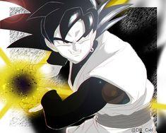 Black Goku Black Goku, Black Dragon, Dbz, Dragon Ball Z, Zamasu Black, Epic Characters, Online Anime, Super Saiyan, Batman