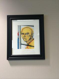 Alzheimer - self portraits over 8 years.