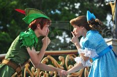 Share a Moment by ~BellesAngel  (this Wendy and Peter Pan are so cute!)