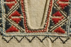 Hand Embroidery, Folk Art, Celtic, Needlework, Scandinavian, Bohemian Rug, Textiles, Women's Fashion, Tejidos
