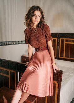 Easy Fashion Tips Marceau Knit Fashion Tips Marceau Knit Office Outfits, Mode Outfits, Fall Outfits, Flannel Outfits, Classy Outfits, Vintage Outfits, Casual Outfits, Classy Clothes, Work Clothes