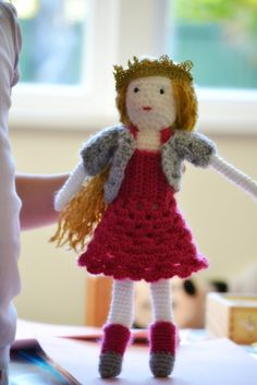Princess Poppy doll -- complete with dress, sweater, bloomers, shoes, and crown!