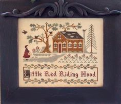 """Little House Needleworks -Storybook Collection -  """"Little Red Riding Hood"""""""