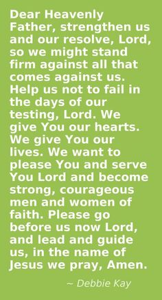 A prayer to say everyday. Prayer Verses, Faith Prayer, Faith In God, Bible Verses, God Prayer, Prayers For Healing, Bible Prayers, Encouragement Quotes, Bible Quotes
