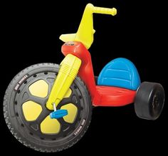 Kids Only Original Big Wheel Racer Ride-On My Childhood Memories, Childhood Toys, Sweet Memories, 70s Toys, Retro Toys, Children's Toys, Baby Toys, Ride On Toys, Outdoor Toys