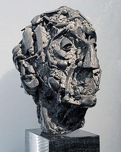 Charlotte van Pallandt Albert Termote 1 donker gepatineerd brons | 37,5-25,5-33 cm Sculpture Head, Human Sculpture, Modern Sculpture, Lion Sculpture, Sculpture Portrait, Ceramic Mask, 3d Artwork, Impressionist Art, Bronze