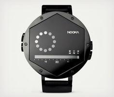 Nooke Zex Hexagonal Face Wrist Watch - lifestylerstore - http://www.lifestylerstore.com/nooke-zex-hexagonal-face-wrist-watch/