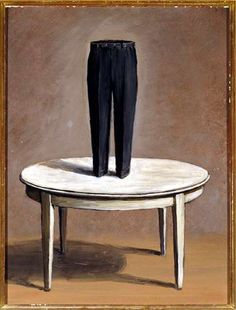 René Magritte | Persian Letters, 1958 | oil on canvas, Dallas Museum of Art
