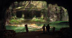 Lost Temple, Santiago Betancur on ArtStation at https://www.artstation.com/artwork/lost-temple-494b767b-0095-4c5b-8a62-81b69ef8e932