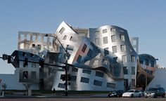"Frank Gehry Opens ""Melting"" a Las Vegas Clinic for Brain Health.   Perfect design for the people who will use it!"