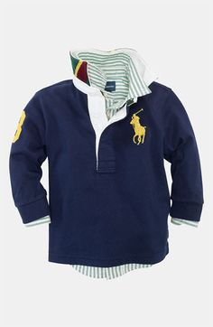 Ralph Lauren Rugby Polo (Infant) available at #Nordstrom