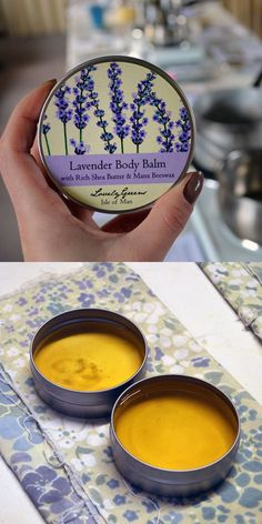 How to make Natural Lavender Body Balm