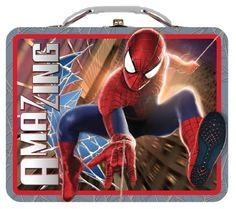 The Tin Box Company The Amazing Spider-Man 2 Large Carry All @ niftywarehouse.com #NiftyWarehouse #Spiderman #Marvel #ComicBooks #TheAvengers #Avengers #Comics