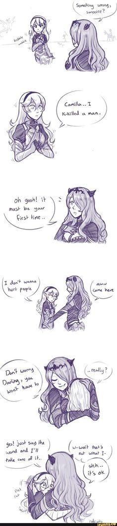 Fire Emblem: Fates Corrin and Camilla