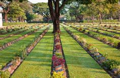 Visit to War Museum (Thailand-Burma Railway Centre), War Cemetery and the River Kwai Bridge, Kanchanaburi - Thailand