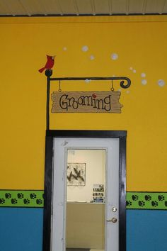 murals, decorative painting, doggie daycare  www.wilbernesscreations.com