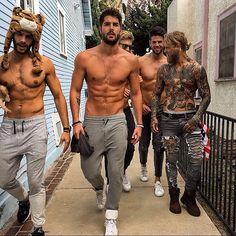 Now why can't my milkshake bring these boys to my yard ? Hahaha  I'd be making milkshakes daily!!!  @nick__bateman @spizoiky  #canada #canadian #canadianmalemodels #canadianmilkshakes #heartbreaker #heartbreakersandsoulshakers #hot #hotties #milkshake #mymilkshakebringsalltheboystotheyard #gorgeous by heartbreakersandsoulshakers