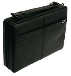 Leather Book Covers  Bible Covers with Handle Black Regular -- Click image to review more details.
