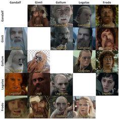 Gandalf, Legolas, Thranduil, Elf Hobbit, Hobbit Funny, Jrr Tolkien, Marvel, Cursed Images, Lord Of The Rings