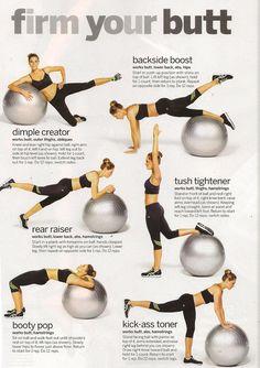 Firm butt workouts.