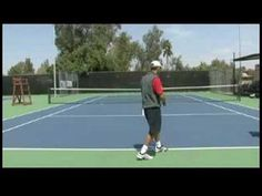 how to return topspin serve