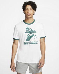 "Nike Dri-FIT ""AIRathon"" Men's Ringer Running T-Shirt. Nike.com"