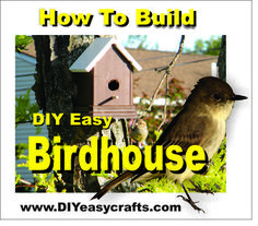 How to build a DIY easy Birdhouse with maintenance free Trex and PVC. Simple fast and easy project takes less than 1 hour. Check out how easy it is to build . Bird Houses Diy, Fairy Houses, Wooden Ladder Shelf, How To Build Abs, Bird House Kits, Bird Aviary, Easy Coffee, How To Attract Birds, Kit Homes