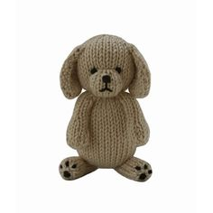 FREE Puppy toy knitting pattern for charity. Get the Downloadable PDF from LoveKnitting.