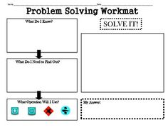 graphic organizers word problems | Vocabulary Word of the Day - Mrs. Lane…