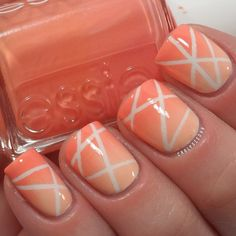 striping tape gradient nails @ carlysisoka