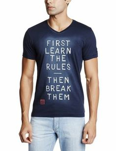 http://bit.ly/1rfxvuC  Shop for the latest new T-Shirts. Cool Printed T-Shirts with latest trends. Be the first to wear future trending T-Shirts to flaunt yourself as a style statement. Be Smart To Buy and Look Smart After You Wear  http://bit.ly/1rfxvuC