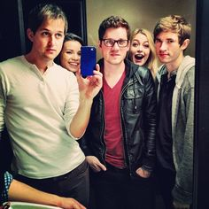 Coolest People on Youtube :)  Photo by alexgoot  Julia Sheer, Alex Goot, Luke Conard, Chad, and Ingrid