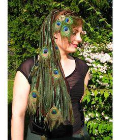 MERMAID HAIR FLOWERS 3 pieces Teal Blue Boho hair jewelry Tribal Fusion Belly Dance hair flowers Gipsy flower hair jewelry Larp accesory