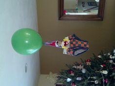 Elf on the Shelf - Air balloon ride