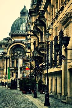 Old City, Bucharest Romania