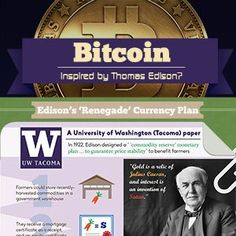 Bitcoin vs Thomas Edison [Infographic]