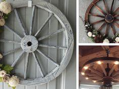 Manželský pár se zabývá renovací a poté dekorací starých dřevěných kol: Podívejte se na ty nejkrásnější! Garden Projects, Mirror, Furniture, Home Decor, Decoration Home, Room Decor, Mirrors, Home Furnishings, Home Interior Design