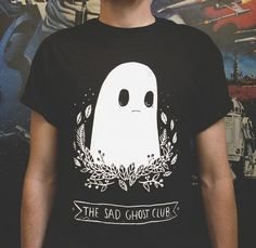 Sad Ghost Club T-shirt ( Women's) GO TO WEBSITE