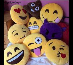 Emoji Pillows❤️