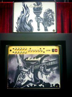 More Awesome custom tattoo Marshall Amps-NAMM 2014 amps #music #marshall