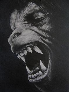 An American Werewolf in London by Darrel Bevan