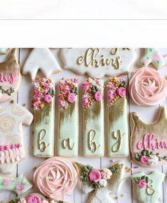 No Bake Sugar Cookies, Sugar Cookie Royal Icing, Cookie Frosting, Fancy Cookies, Biscuit Cookies, Cute Cookies, Elegant Cookies, Heart Cookies, Valentine Cookies