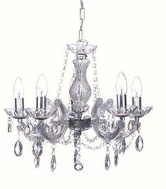 Marie Therese 5 Light Chandelier in Chrome, with Crystal Glass & Acrylic by Marco Tielle Marco Tielle http://www.amazon.co.uk/dp/B00ICL3B4G/ref=cm_sw_r_pi_dp_LraPwb0HYW7Y9